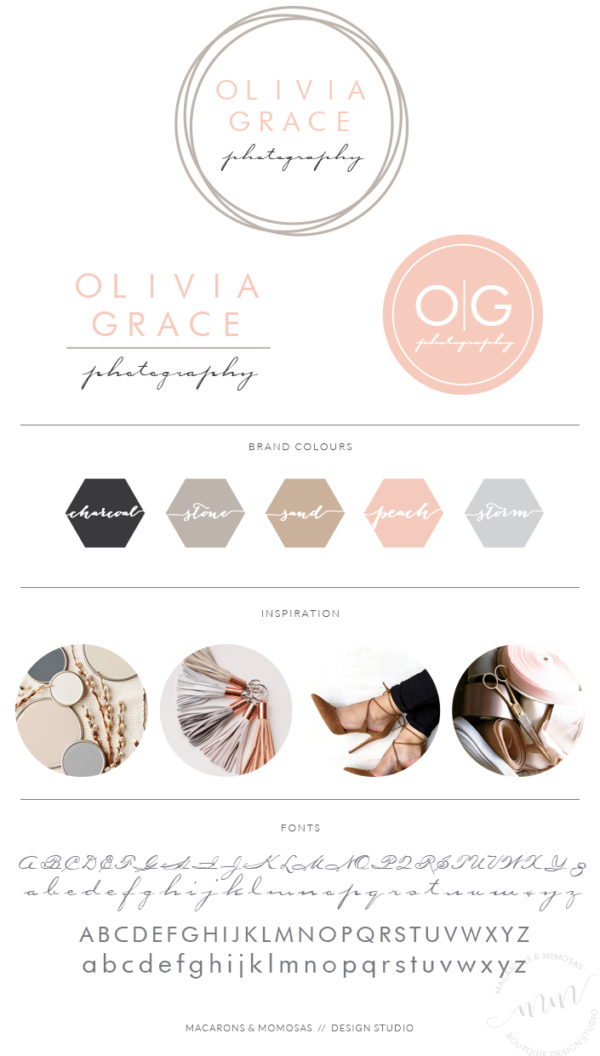 Circle Photography Branding Design Logo