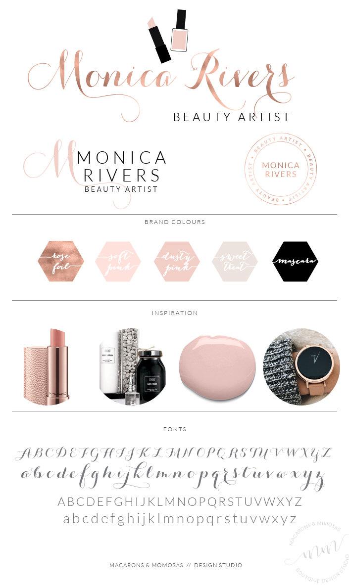 Monica Rivers Logo Set