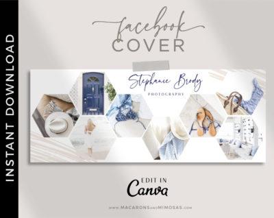 Facebook Cover Template, Facebook Banner, Facebook Timeline, Facebook Template, Photographer Facebook Cover, Photography Template, Collage