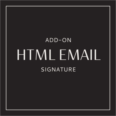 Create HTML Email Signature