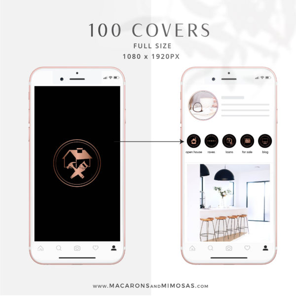106 Instagram Story Highlights Icons, Rose Gold Marble Instagram Story Template Bundle, Instagram Highlights, Realtor, Real Estate Instagram Highlight Icon Covers, Real Estate Instagram Templates, Realtor Highlight Icon Covers, Realtor Instagram Templates, Realty Social Media, real estate instagram templates