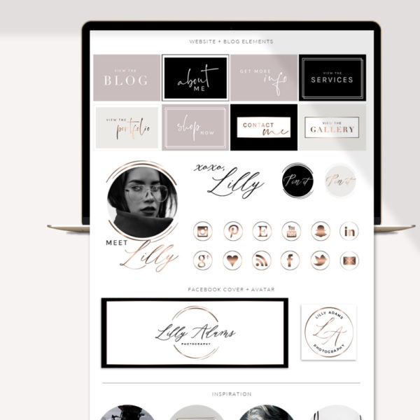 Website Graphic Kit Package