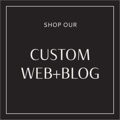 Custom Web + Blog Packages