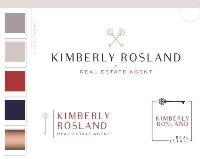 Real Estate Logo Design, Realtor Logo, House logo watermark, Realtor Marketing real estate agent Real Estate branding package Broker Logo
