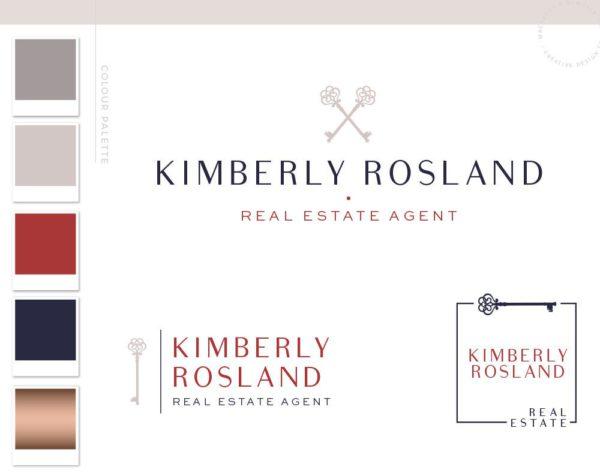 Real Estate Logo Design, Realtor Logo, House logo watermark, Realtor Marketing real estate agent Real Estate branding package Broker Logo