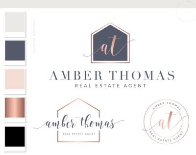 House Logo, Real Estate Logo, Home Decor Logo, Company Premade Logo, Realtor Logo, Interior Design Logo