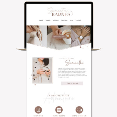 Blog Graphics Kit, Website Blog Template Kit, Ultimate Branding Kit, Premade website graphics, Website Social Media Package