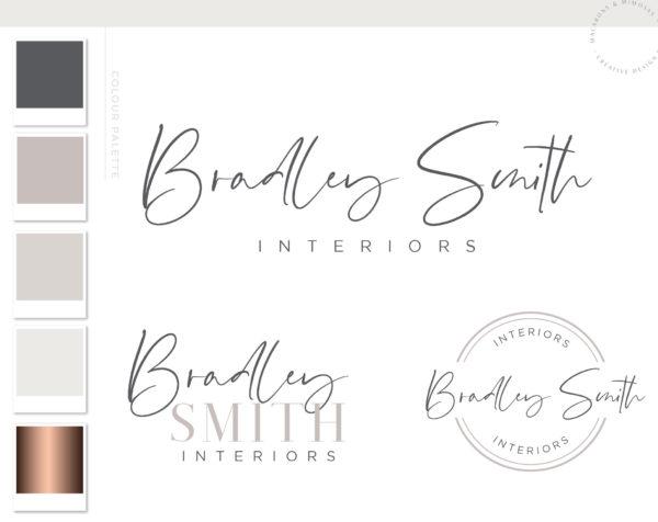 Handwritten logo, Signature Logo, Blog Logo, Watermark, Logo Design, Premade Logo Design, Photography Logo Design, Handwritten design Logo