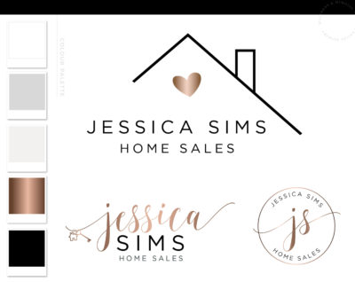 Real Estate Logo, Realtor Logo Design, Broker logo, House logo watermark, Realtor Marketing real estate agent Real Estate branding package