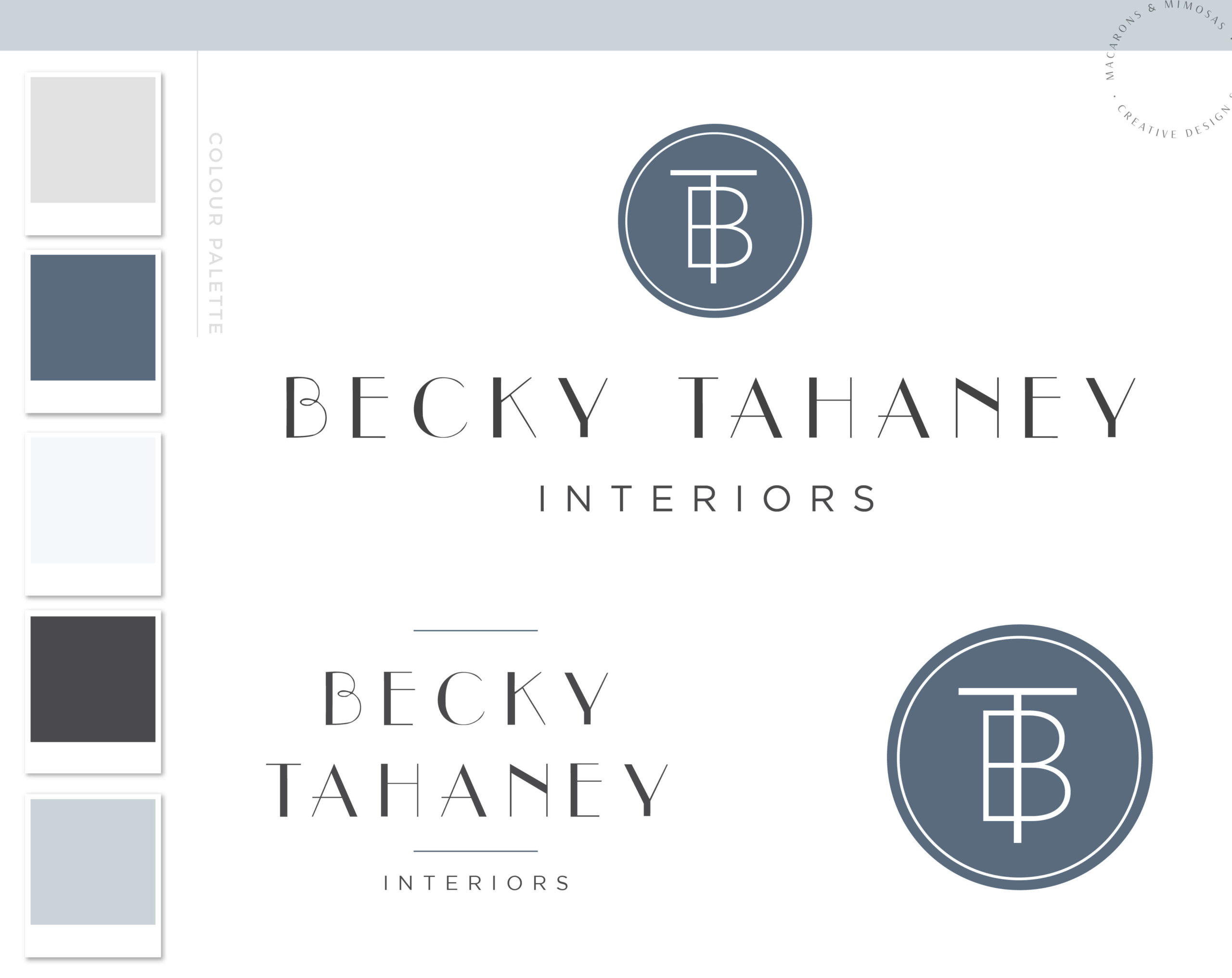 Business Logo & Branding Design for Photography, Watermark Logo kit package for custom Event Planners, Interior Design and Real Estate