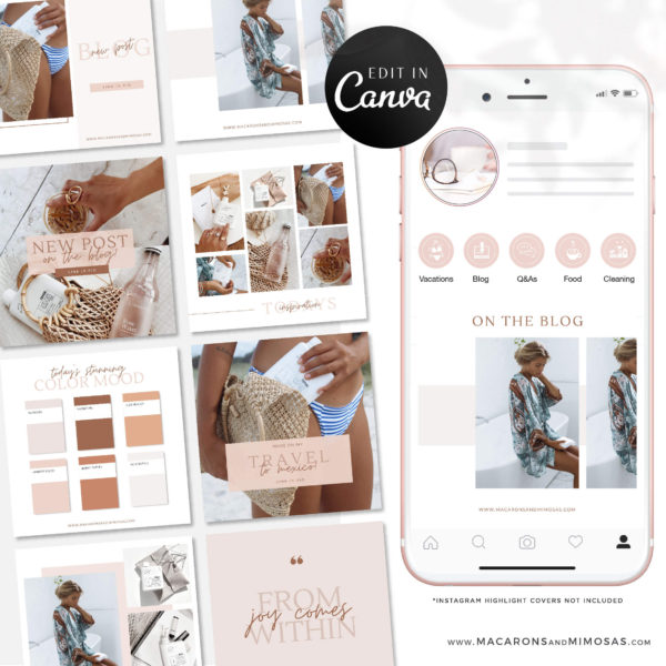 Best Instagram Templates & Banners, Interior Design Instagram Templates, Creative Instagram Templates