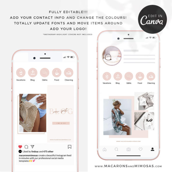 Best Instagram Templates & Banners, Interior Design Instagram Templates, Creative Instagram Templates