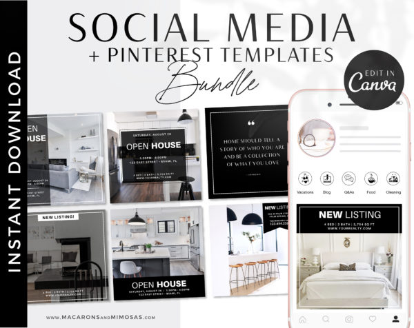 Realtor Instagram Templates