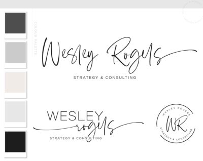 Premade Logo Design, Photography Logo Watermark, Dainty Logo, Customized Logo, Signature Logo, Boutique Logo, Feminine Logo, Elegant Logo
