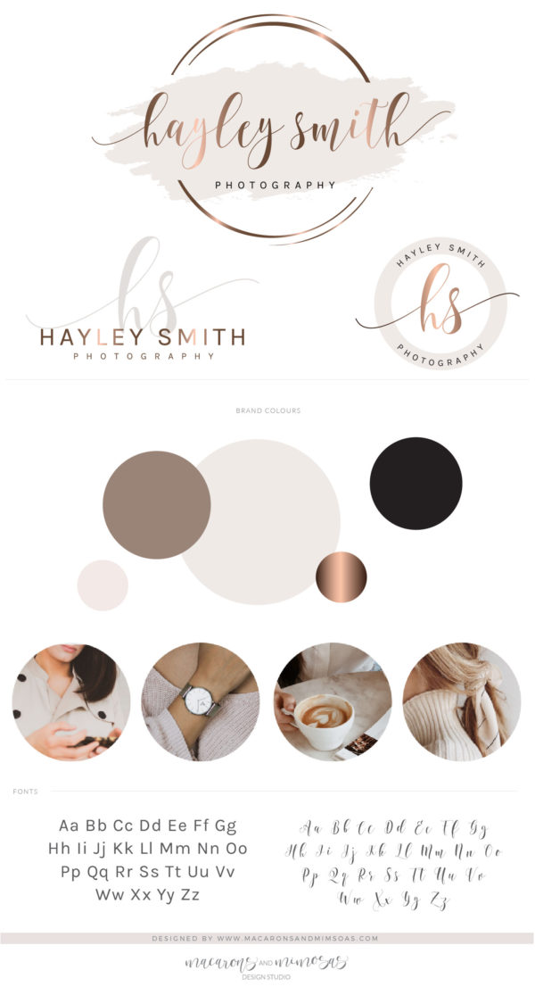 Logo Design, Business Logo Package, Photography Branding Kit Logo Design, Premade Logo Design, Watercolor Lash Logo, Boutique Shop Branding