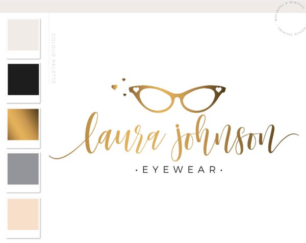 Cat Eye Sunglasses Logo