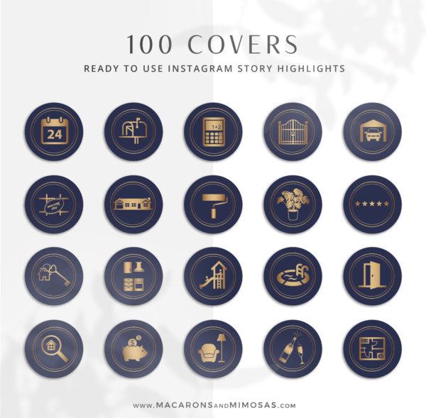 130+ Piece Real Estate Logo Design Branding Bundle for Instagram, Realtor House Marketing Logo Watermark and Broker Branding Package