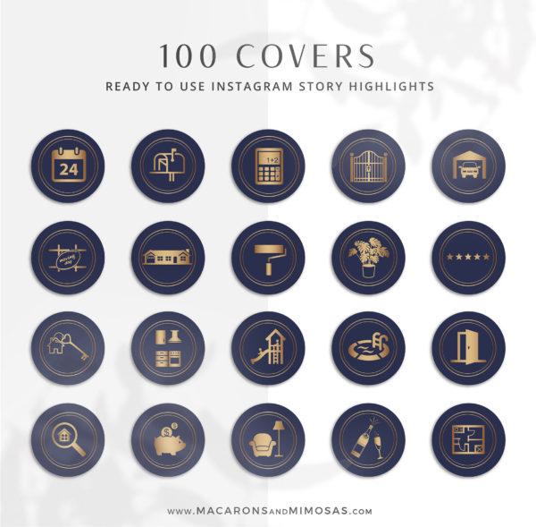130+ Piece Real Estate Logo Design Branding Bundle for Instagram, Realtor Key Marketing Logo Watermark and Broker Branding Package