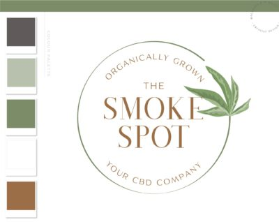 Health Weed Logo, CBD Logo, Cannabis Oil Logo, Marijuana Dispensary Logo, THC Logo Brand, Smoke Shop Logo, Organic Nature Leaf Watermark