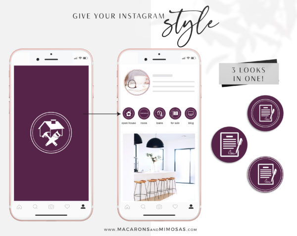 100 Berkshire Hathaway Home Services Instagram Icons, Story Highlight Icons, social media icons