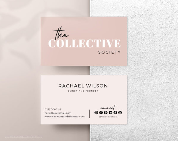 Style Collective is an EditableSemi-Custom Brand Kit that includes one Main Logo, a Secondary Logo, Typography suggestions Curated Stock Photos, and more!
