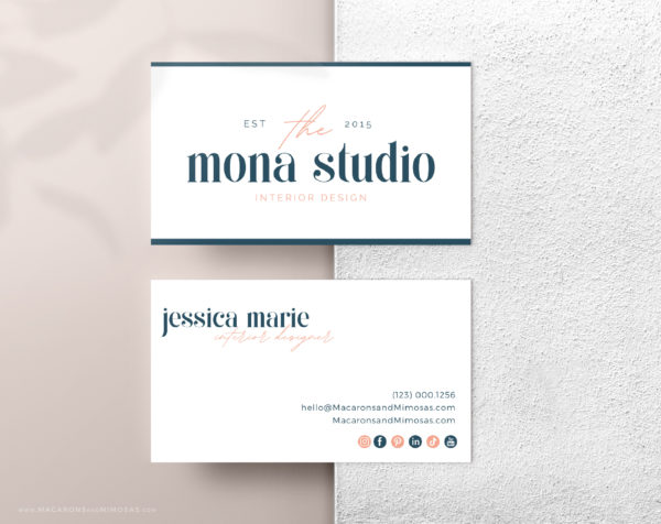 Bright and Bold Semi-Custom Brand Design includes one Main Logo, a Secondary Logo, Typography suggestions Curated Stock Photos, and more!
