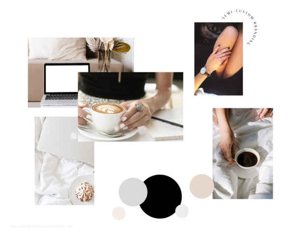 Modern Chic is an EditableSemi-Custom Brand Kit that includes Modern Business Card Design, Logo, Typography suggestions Curated Stock Photos, and more!