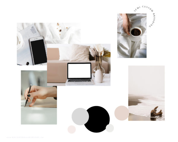 Semi-Custom Brand Identity Design for Creative Small Business Owners and Entrepreneurs, Branding and Web Design for Creatives, Branding and Web Design for Photographers